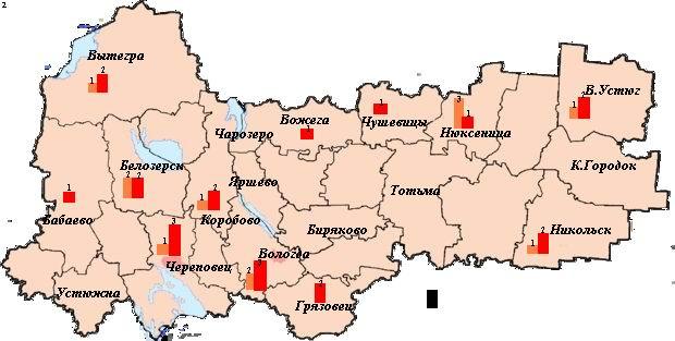 Вологодской области в