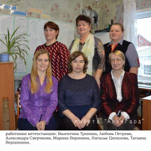 Никольск работники станции